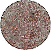10 Pfennig (Trossingen) [Private, Rheinprovinz, Clements] – revers