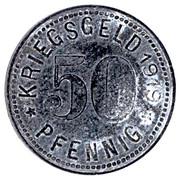 50 Pfennig Dinslaken – revers