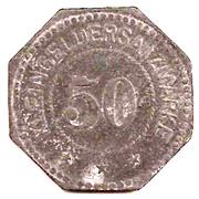 50 Pfennig (Ilmenau) [Private, Sachsen-Weimar-Eisenach, Lebensmittel Commission] – revers