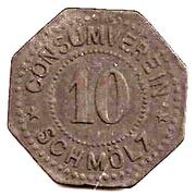10 Pfennig (Schmölz) – avers