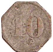 10 Pfennig (Schmölz) – revers