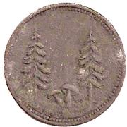 50 Pfennig (Schönwald) [Gemeinde, Bayern] – revers