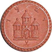 Freiberg 50 Pfennig Notgeld – revers