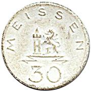 30 pfennig (Meißen) – avers