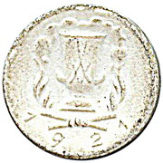 30 pfennig (Meißen) – revers