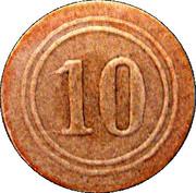 10 Pfennig (Gunhain) – revers