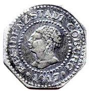 10 pfennig (Coburg) – avers
