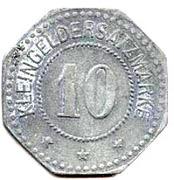 10 pfennig (Coburg) – revers