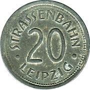 20 Pfennig (Notgeld Leipzig) – avers