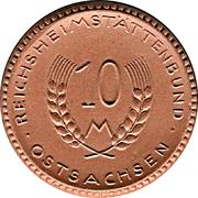 10 Mark (Ostsachsen) [Distrikt, Sachsen] – avers