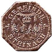 10 Pfennig (Steinach) [Gemeine, Sachsen-Meiningen] -  avers