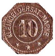 10 Pfennig (Steinach) [Gemeine, Sachsen-Meiningen] -  revers