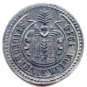 5 Pfennig (Weida) – avers
