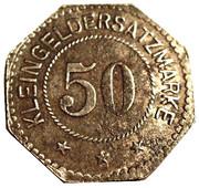 50 pfennig (Pinneberg) – revers