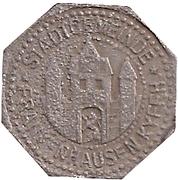 5 Pfennig (Frankenhausen) [Stadt, Schwarzburg-Rudolstadt] – avers