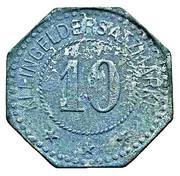 10 Pfennig (Pinneberg) [ Bank Schleswig-Holstein] – revers