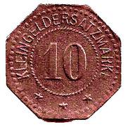 10 Pfennig (Elmshorn) – revers