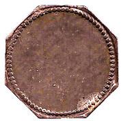 10 Pfennig (Nüssau) [Private, Schleswig-Holstein, Securitas] – revers