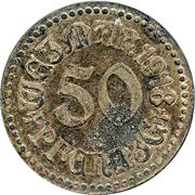 50 Pfennig (Weimar) – avers