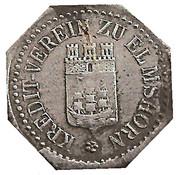 5 Pfennig (Elmshorn) – avers