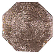 5 Pfennig (Elmshorn) – revers