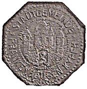 10 Pfennig (Frankenhausen) [Stadt, Schwarzburg-Rudolstadt] – avers