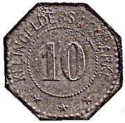 10 Pfennig (Frankenhausen) [Stadt, Schwarzburg-Rudolstadt] – revers