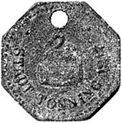 10 pfennig  (Tonning) [Stadt, Schleswig-Holstein] – avers