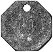 10 pfennig  (Tonning) [Stadt, Schleswig-Holstein] – revers