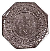 50 Pfennig (Frankenhausen) – avers