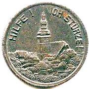 50 Pfennig ( Frankenhausen) – revers