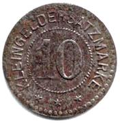 10 pfennig - Landeshut – revers