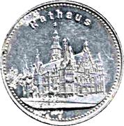 Breslau Rathaus token – revers