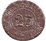 25 Pfennig (Haynau) – revers