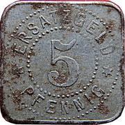 5 pfennig (Neusalz a. Oder) [Stadt, Schlesien] – revers