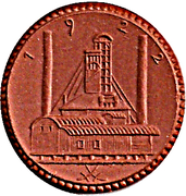 3 Mark (Waldenburg in Schlesien) [Stadt, Schlesien] – avers