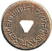 10 Pfennig - Boch Gels Strassenbahnen AG – avers