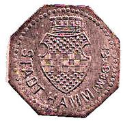 5 Pfennig (Hamm) [Stadt, Westfalen] – avers
