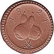 50 Pfennig ( Grunberg ) Notgeld – revers