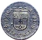 10 pfennig (Buer in Westfalen) – avers