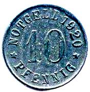 10 pfennig (Olpe) – revers
