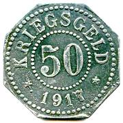 50 pfennig (Hamm) – revers