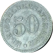 50 Pfennig (Arnsberg - Westfalen) – revers