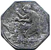 10 Pfennig (Bielefeld) – avers