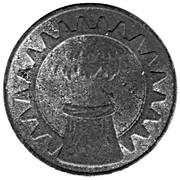 5 Pfennig (Göppingen) – revers