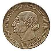 1 billion de mark (Westfalen; Freiherr vom Stein) – revers