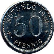 50 Pfennig (Menden) [Stadt Westfalen] – revers