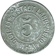 5 Pfennig (Landsberg am Warte) [Stadt, Brandenburg] – avers
