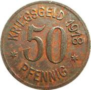 50 pfennig nécessité (Siegen) – revers