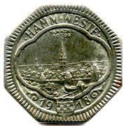 50 pfennig (Hamm) – avers